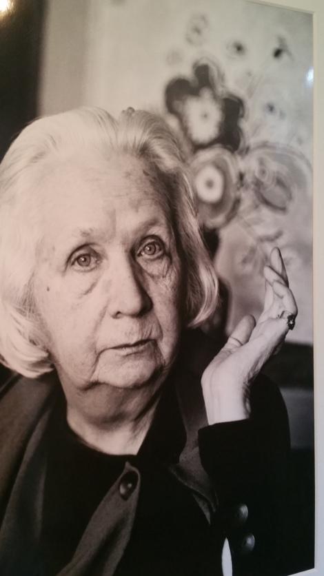 Gabriele Münter als 80Jährige