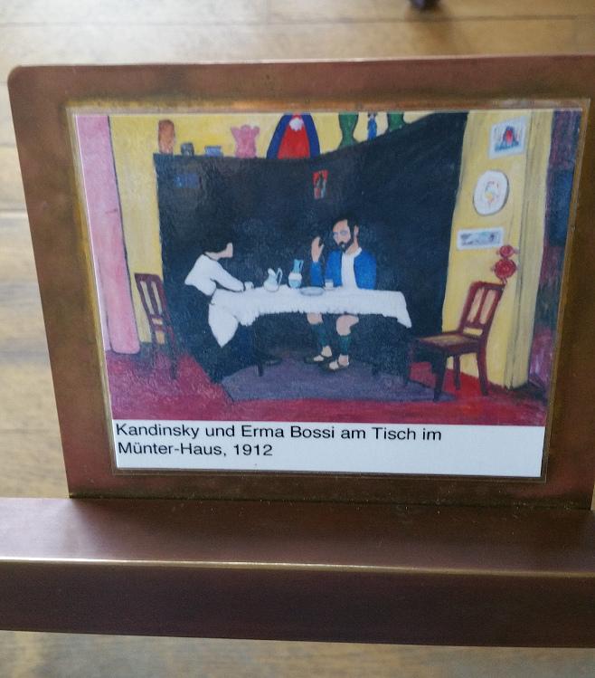 Münter, Tischbild