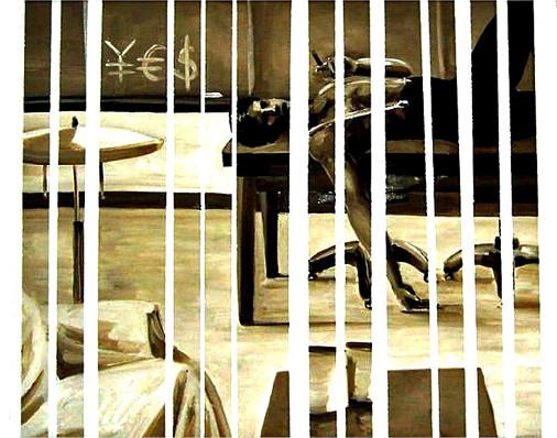 YES_Serie_Gestreift_Oel auf Leinwand_40 x 50 x 1,5 cm_2009_KATJA HOCHSTEIN (Medium).jpg