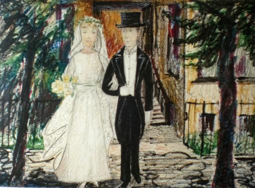 Brautpaar 1919