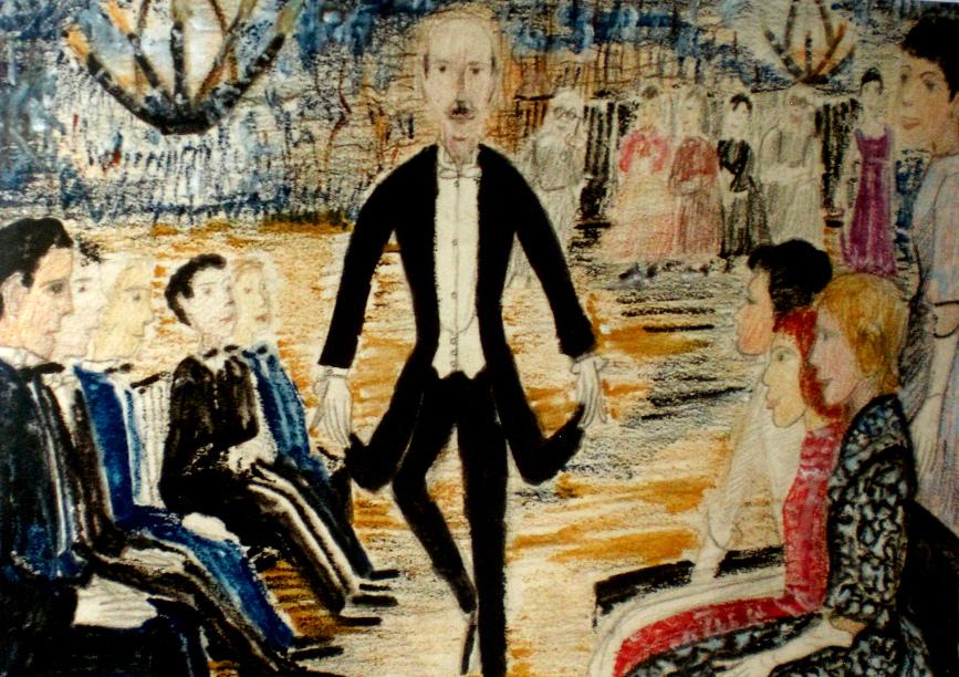 Tanzstunde 1917