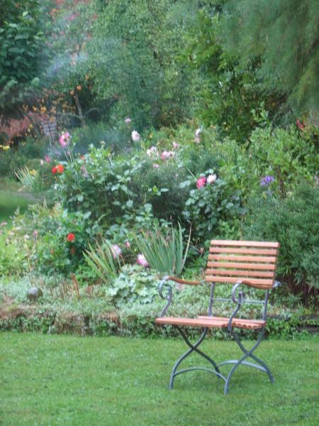 Gartensessel nach historischem Vorbild