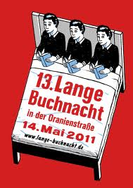 Rafael Varona: Plakatentwurf 13. lange Buchnacht