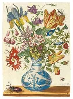 Sybilla Merian (1647-1717), Blumenbuch