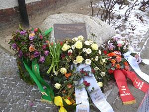 Gedenkstein für Hatun Sürücü