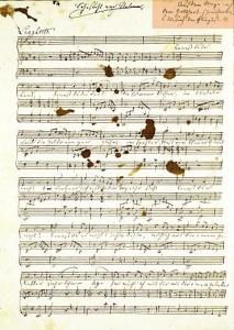 Fanny Hensel, Autograph