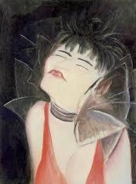 Jeanne Mammen, Valeska Gert, c. 1929, Bild: www.weimarart.blogspot.com