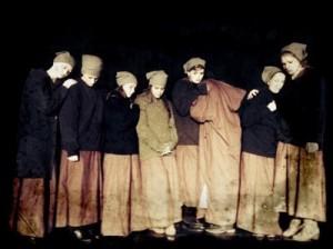 Szene der Zwangsarbeiterinnen. Foto (c) Rahner, Bild:
