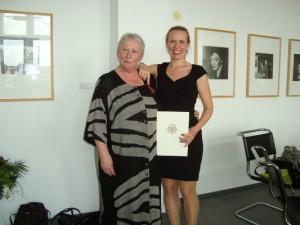 Erika Grossmann und ihre Tochter Juliane, Fotos: Gedok-Berlin