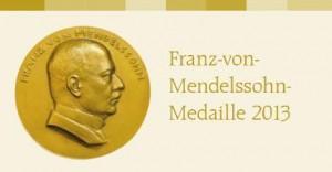 Franz-von-Mendelssohn Medaille auf Berlin-Woman