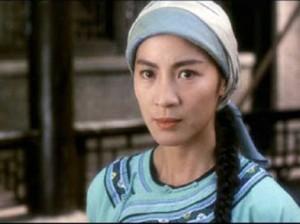 Bild: Michelle Yeoh in der Rolle der Yim Wing Chun 1994, Bild: www.kaleidoscope.cultural-china.com