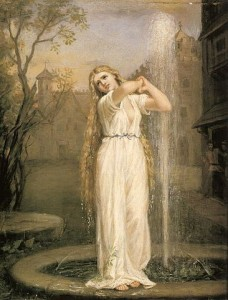 John William Waterhouse, Undine, 1873, Bild: www.wikipedia.org