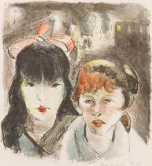 Lene Schneider-Kainer, Amsterdam, 1919, Bild: www.kunsthandel-wurzer.com