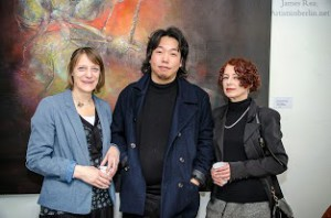 Opening, Carola Muysers, Lee Young-sik, Christine Balbach, Foto: Foto: ©James Rea