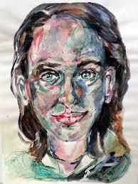 Susanne Schirdewahn, Selbstportrait 2012