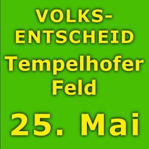 Volksentscheid Tempelhofer Feld auf Berlin-Woman