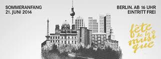 Fete de la musique Berlin auf Berlin-Woman