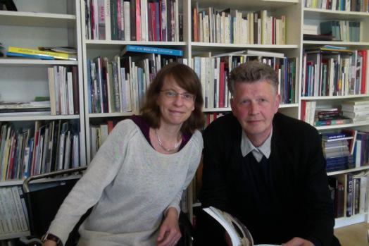 Carola Hartlieb-Kühn und Christoph Thomessen. Foto: ©Kunstagentur Thomessen