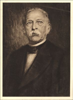 Theodor Fontane, Offsetdruck nach einer Kreidezeichnung © Humboldt-Universität,  zu Berlin, Universitätsbibliothek Bild: sammlungen.hu-berlin.de