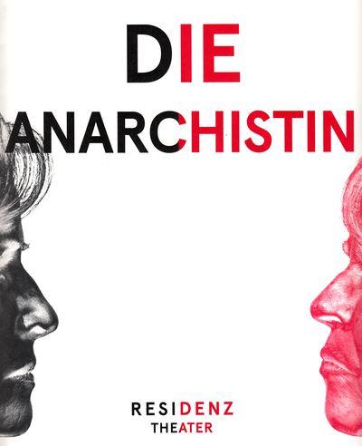 """Bild: Programmheft """"die Anarchistin"""", Residenztheater, München"""