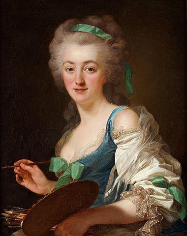 Alexander Roslin, Anne Vallayer-Coster, 1783, Öl/Lw, Louvre, Bild: de.wikipedia.org