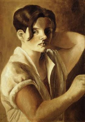 Hanna Nagel, Selbstportrait 1929, Bild: weimarart.blogspot.com