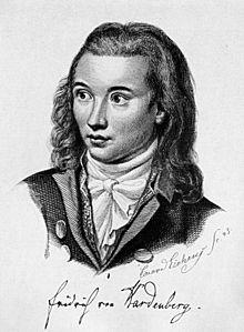 Novalis, Stahlstich von Friedrich Eduard Eichens (1845), Bild: de.wikipedia.org