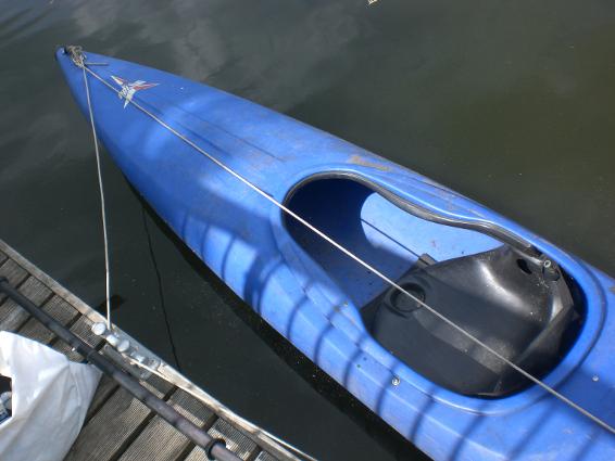 das blaue Kanu ©Berlin-Woman