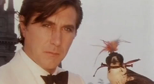 "Filmstill aus dem Video ""Avalon"" von Roxy Music. www.polskieradio.pl"