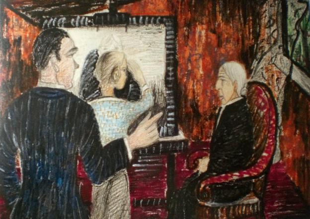 Kate Diehn-Bitt, der erste Zeichenunterricht bei Rudolf Sieger 1915