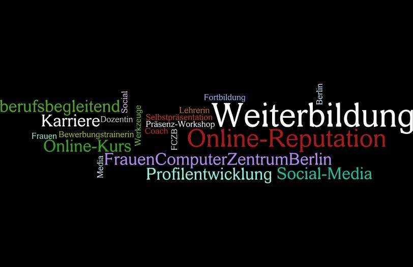Frauen Computer Zentrum auf Berlin-Woman