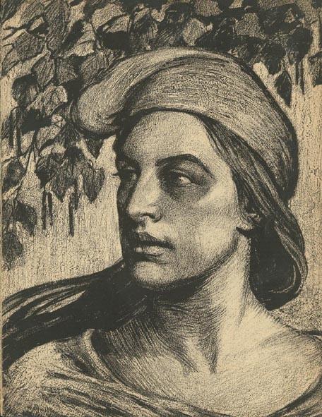 Ilse Schütze-Schur, Allegorie der Freiheit, Maifestzeitung 1910, Bildquelle: http://www.fes.de