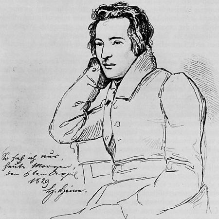 Heinrich Heine (1797-1856) Bild: www.  neumann-orient-okzident.de