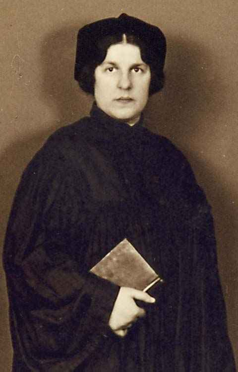"Regina Jonas,  Stiftung ""Neue Synagoge Berlin - Centrum Judaicum,"" Berlin. www.jwa.org"