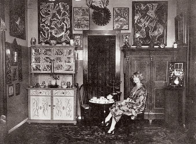 Ein Leben im STURM: Nell Walden 1926, Bild: Nell Roslund www.schirn.de