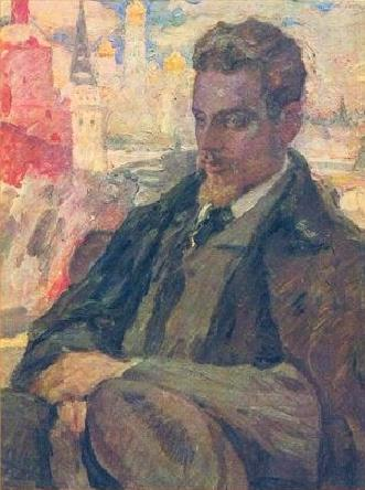 Leonid Ossipowitsch Pasternak, Rainer Maria Rilke, 1921-24 (Photo: Ashmolean Museum, University of Oxford). Bild: Rainer Maria Rilke, www.en.wikipedia.org