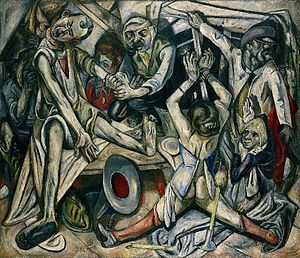 Max_Beckmann,_1918-19,_The_Night_(Die_Nacht),_oil_on_canvas,_133_x_154_cm,_Kunstsammlung_Nordrhein-Westfalen,_Düsseldorf
