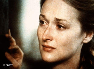 Meryl Streep as Inga Helms-Weiss in Holocaust (TV Miniseries). Screenshot. Bild:  https://en.wikipedia.org/wiki/File:Holocaust_%28TV_miniseries%29.jpg