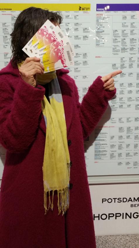 Sabeene auf der Berlinale ©Berlin-Woman