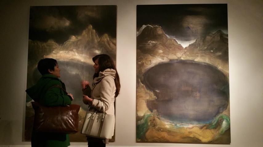 """In der Ausstellung """"... und plötzlich dreht sich der Wind"""" ©Berlin-Woman"""