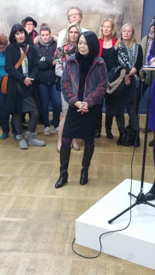 Leiko Ikemura auf Berlin-Woman