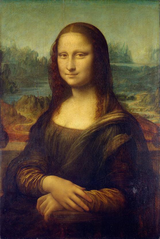 Bildquelle: Leonardo da Vinci, Mona Lisa, 77 x 53 cm, Öl/ Pappelholz, 1503-07, Louvre:. https://de.wikipedia.org/wiki/Mona_Lisa