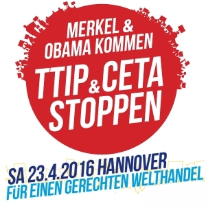 TTIP Demo in Hannover