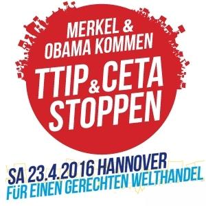 TTIP Demo in Hannover