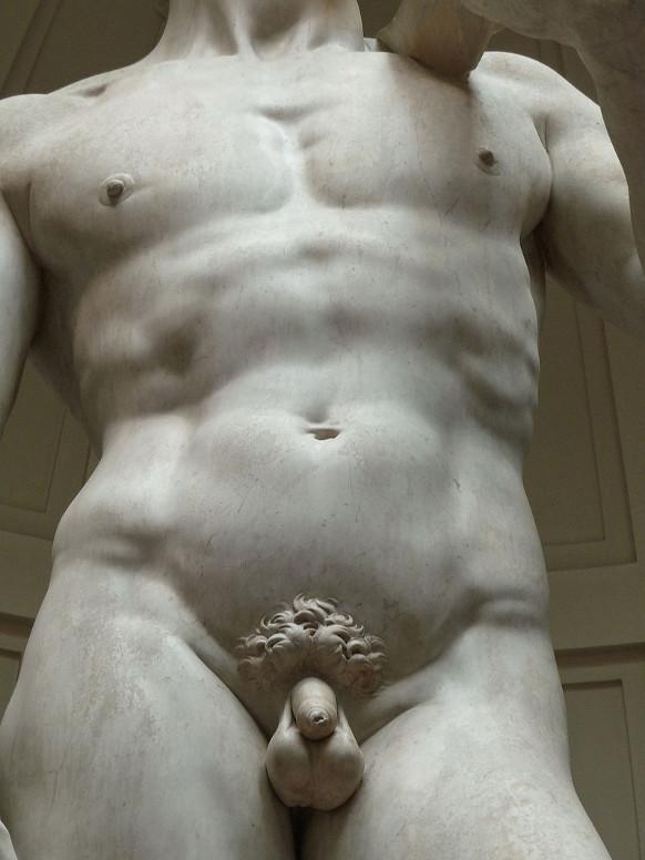 Michelangelo Buonarotti, David 1504, Detailansicht. Foto: Jörg Bittner Unna - Eigenes Werk, CC BY 3.0, https://commons.wikimedia.org/w/index.php?curid=38304755