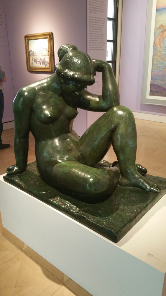 Aristide Maillol, La Mediteranée, Bronze 1906 (in der Ausstellung Harry Graf Kessler)